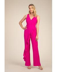 Trina Turk Minimalist Jumpsuit - Pink