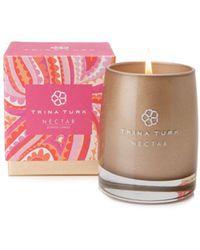 Trina Turk Nectar Candle - Pink