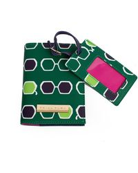 Trina Turk Made In The Shade Travel Set - Green