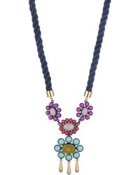 Trina Turk - Super Bloom Pendant Necklace - Lyst