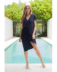 Trina Turk Dawn Dress - Blue