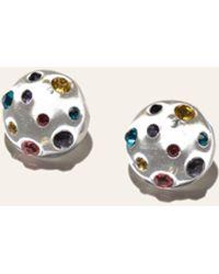 Lele Sadoughi Constellation Button Earrings - Multicolour