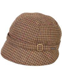 Triona Design Donegal Tweed Flapper Cap - Brown