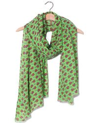 American Vintage Maddy Fatistreet Scarf - Green