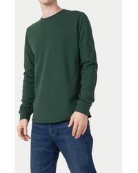 Edwin - Terry Rib Long Sleeve T Shirt Sycamore - Lyst