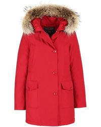 Woolrich W ́s Arctic Parka DF Rojo