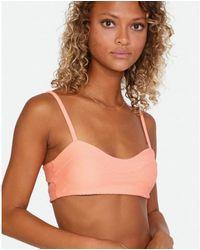 RVCA La Jolla Bikini Top Coral - Mehrfarbig
