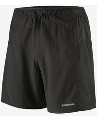 Patagonia Ms Strider Pro Running Shorts 7 Black