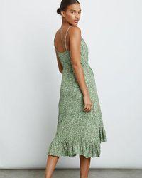 Rails Frida Dress Juniper - Verde