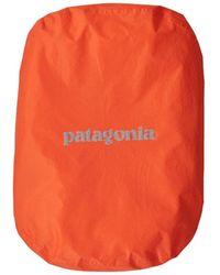 Patagonia Funda impermeable para mochila 15 L 30 L Campfire Naranja