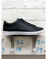 Fred Perry Zapatos deportivos Baseline - Negro