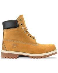 Timberland Https://www.trouva.com/it/products/-wheat-premium-waterproof-6-inch-boot-nubuck - Marrone