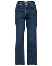 SELECTED Kate High Waist Jeans - Blue