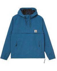 Carhartt Nimbus Pullover Jacket Shore - Blue