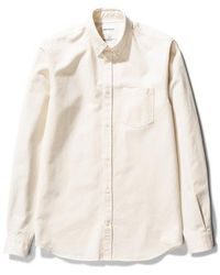 Norse Projects Anton Denim Shirt Ecru - Natural