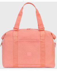 Herschel Supply Co. Strawberry Pink Ice Woven Strand Reisetasche