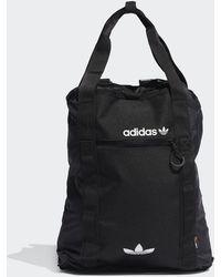 adidas Black And White Adventure Cordura Cinch Bag