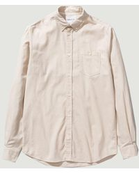 Norse Projects Anton Brushed Flannel - White