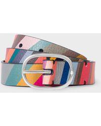 Paul Smith Cintura colorata - Multicolore