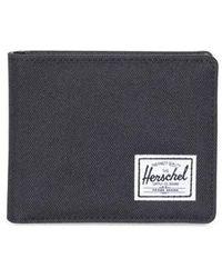 Herschel Supply Co. Cartera Hank Coin Noir Rfid