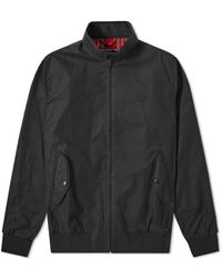 Fred Perry Reissues Made In England Harrington Jacket Black - Multicolour