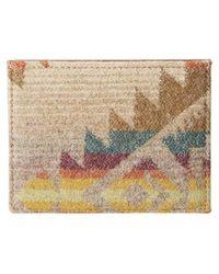 Pendleton Tarjetero Slim Wallet Toas Trail - Multicolor