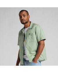 Lee Jeans Camiseta Resort S S Ver Granito - Verde