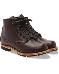 """Red Wing - Red Wing 9411 Beckman 6 """"Round Toe Boot Black Cherry Featherstone - Lyst"""
