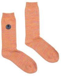 Folk Folk Melange Socks - Multicolour