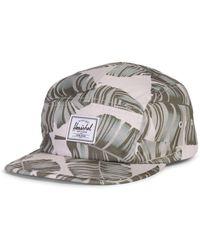 Herschel Supply Co. Gorra de plata con abedul y palma de Glendale - Metálico