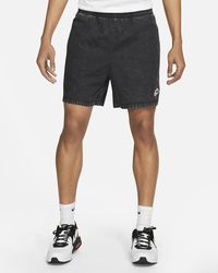 Nike Pantalones cortos Sportswear Heritage Essentials negro lavado