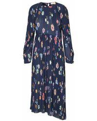 Stine Goya Https://www.trouva.com/it/products/stine-goya-luella-dress-floral - Blu