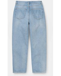 Carhartt Light Blue Stone Washed Womens Newport Pant