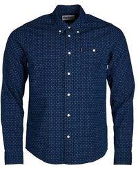 Barbour Indigo 1 Slim Fit Shirt - Blau