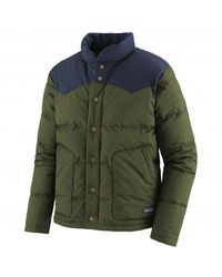 Patagonia Ms Bivy Down Jacket Kelp Forest - Green