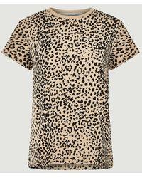 Être Cécile T-Shirt mit Leopardenmuster - Mehrfarbig