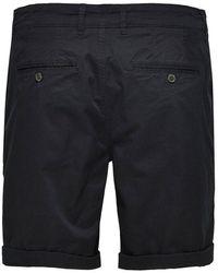 SELECTED Paris Chino Shorts Black