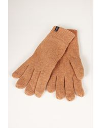 SELECTED - Camel New Wool Gloves - Lyst