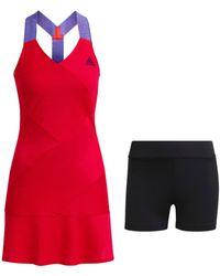adidas W Y Abito P Blu GQ 8929 Tennis - Rosso