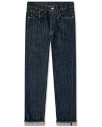 Levi's Denim Vintage Kleidung 1947 501 Jeans New Spinse L32 - Blau