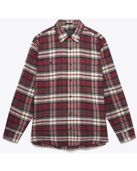 Pendleton Hawthorn Shirt Macdonald Tartán - Rojo