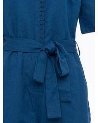 Great Plains Combinaison en lin mélangé Milos - Bleu