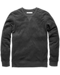 Outerknown Hightide Crew Pitch Black