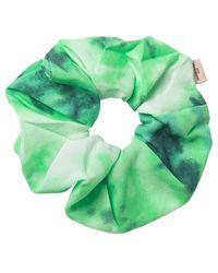 Becksöndergaard Tia Green Hair Scrunchie