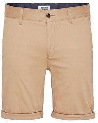 Tommy Hilfiger Tommy Jeans Essential Chino Short Khaki - Neutro