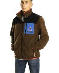Scotch /& Soda Sporty Colour-Block Bomber Jacket with Hood Chaqueta para Ni/ños