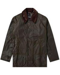 Barbour Beaufort Wax Jacket Olive - Multicolore