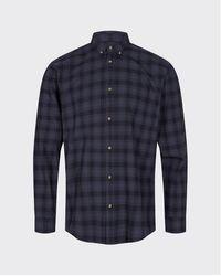 Minimum Camisa manga larga Walther zafiro oscuro 7292 - Azul