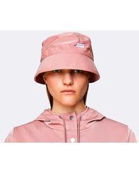 Rains Blush Bucket Hat - Pink