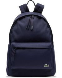 Lacoste Neocroc Canvas Backpack Nh 2677 Ne Navy - Blue